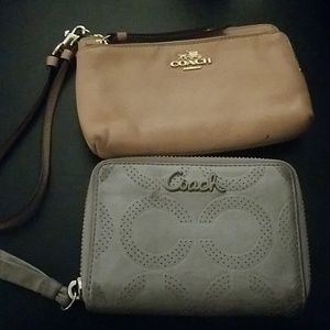 Bundle of Coach Wallet & Coach Wristlet